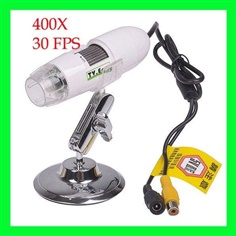 DM05- TV out 2.0M Pixel Digital Microscope Zoom 25-400X