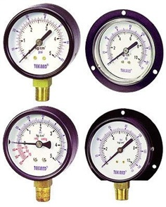 TEKLAND - POPULAR TYPE PRESSURE GAUGES ,VACUUM GAUGES ,COMPOUND GAUGES - เกจแห้ง