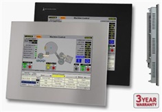 "Industrial Monitor and Touch Screen - 15"" Panel Mount"