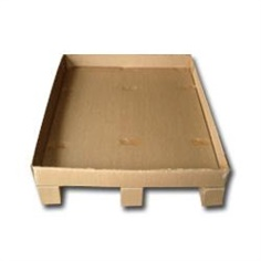 Paper Pallet with Tray