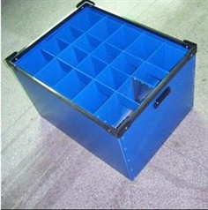 PP Corrugated Box with partition