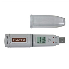 LO02-Temperature and humidity logger (Model: HE-173)