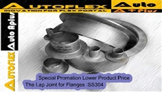 Stub End, Lap Joint, Loose Flange, Lap Joint Flange : SUS304, SUS316