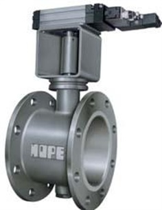 ROTARY ACTUATOR BUTTERFLY DAMPER