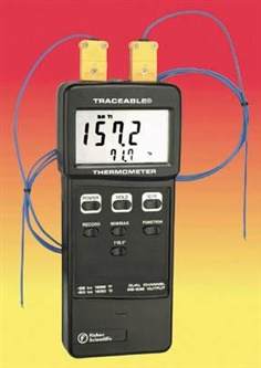 Traceable Double Thermometer (15-077-26)
