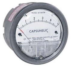 Capsuhelic? Differential Pressure Gage