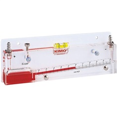 INCLINED LIQUID COLUMN MANOMETER