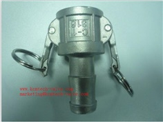 DN15 Stainless steel 316 quick coupling Stainless steel camlock coupling B quick