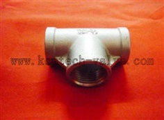 precision stainless steel casting pipe fitting