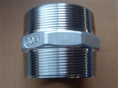 hex nipple,precision pipe fitting ,screwed pipe fittings