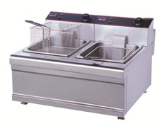 Table Type Electric Fryer (2-Tank)