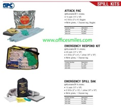 SPC Booms Marine Sorbents, Attack PAC, Emergency respond kit,Emergency spill sak