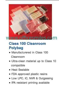 Class 100 Cleanroom Polybag