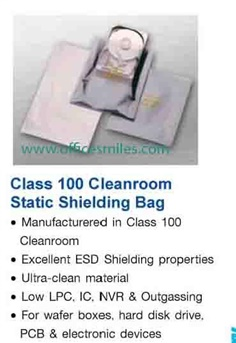 Class 100 Cleanroom Static Shielding Bag