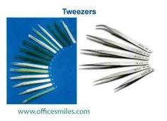 Tweezers อุปกรณ์จับชิ้นงาน ในห้องคลีนรูม