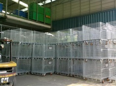 Pallet Container Wire Mesh