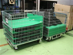 Wire Mesh Container Pallet