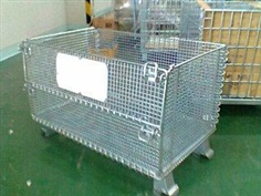 Box Wire Mesh Container pallet Steel