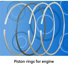 industrial machinery piston rings