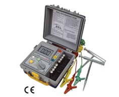 Earth Resistance Tester 3-wire method