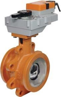 BELIMO-Characterised Control Valves with Actuators