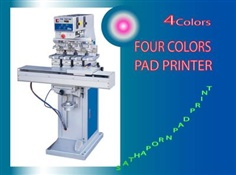 Four Colors Pad Printing Machinery