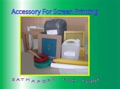 Accessory For Screen Printing