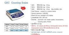เครื่องชั่ง Tscale รุ่นเครื่องชั่ง QHC Counting Scales เครื่องชั่งนับจำนวน