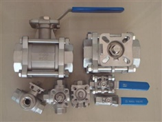 BALL VALVE ISO5211 DIRECT MOUNT 2 WAY, บอลวาล์ว 2 ทาง