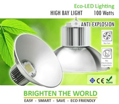 Eco-LED High Bay 100W Anti-Explosion