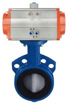 Pneumatic Soft-sealing Butterfly Valve