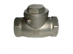 SWING CHECK VALVE STAINLESS