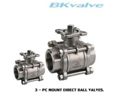 Ball valve Direct Mount