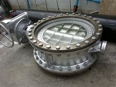 BUTTERFLY VALVE METAL SEAT