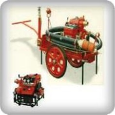 Portable fire pump Gasoline engine and Diesel engine