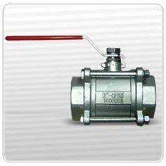 3 Pcs Ball Valve Stainless
