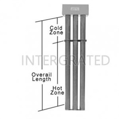 SINGLE TUBE METAL HEATER