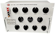 HARS-LX Series (Eleven-decade model) Decade Resistance Substituter Lab Standard