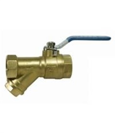 PN20 Ball Valve With Y-Strainer (BSPT Screwed End)