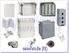 Junction box IP68, IP67, Polyester cabinet IP65, Stainless steel cabinet