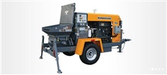 Refractory Shotcrete Pump for wetmix