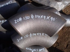 ASTM A234 WPC LR 90 Dge Welding carbon steel elbow