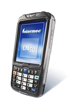 Barcode CN50 Mobile Computer The Intermec CN50 is the only 3.75G wireless mobile