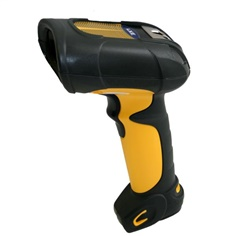 Barcode  8520 extended range laser scanner is built to withstand use in demandin