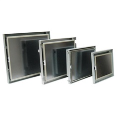 Embedded Open Frame and Rugged Panel Mount Monitor series offer flexible options