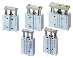 Twin guide cylinders (MCGB series)