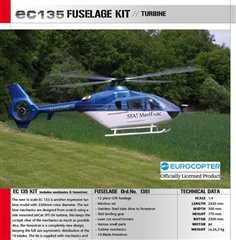 EC135 Scale Helicopter