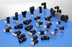 Plastic Push in Fittings (Pneumatic Fittings, One Touch Tube Fittings, Instant Fittings)