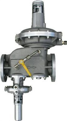 MEDENUS Gas Pressure Regulator type RS 251 With built in safety shut-off valve
