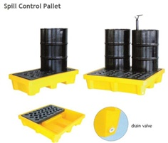 Spill containment and pallet